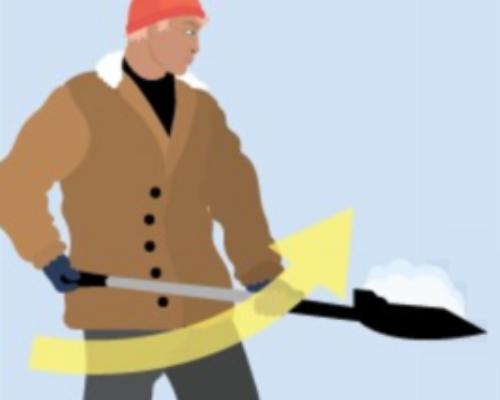 Hvordan måke snø og unngå skader?